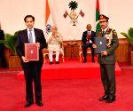 Modi-Solih witness exchange of agreements