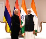 India-Mauritius bilateral meeting