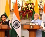 Modi-Kyi joint press conference