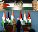 Ramallah (Palestine): Joint press meet - Modi, Mahmoud Abbas