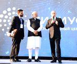 Modi, Putin visit Sirius