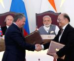 Exchange of agreements - PM Modi, Russian President Putin