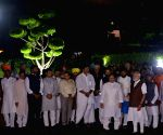 PM Modi inaugurates facade lighting of Parliament House