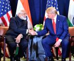 Fulfil promises to better lives of Kashmiris: Trump to Modi