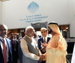 Modi, UAE PM at Sheikh Zayed Exhibition