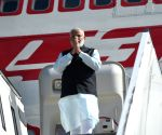 Modi arrives in Germany