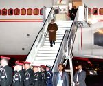 Modi arrives in Belgium