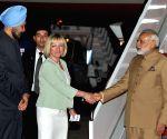 Modi arrives in US