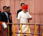 PM Modi Arrives at Red Fort