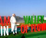 PM Modi inaugurates 'Valley of Flowers' in Gujarat