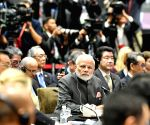 PM Modi, Shinzo Abe at13th East Asia Summit's Plenary Session