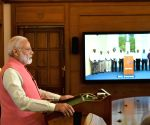 Modi interacts Heads of South Asian Nations