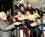 Stockholm (Sweden): PM Modi arrives in Stockholm