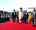 PM Modi arrives in Maldives