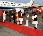 PM Modi received by West Bengal Governor in Kolkata