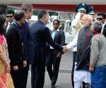 Astana (Kazakhstan): Modi reaches Kazakhstan