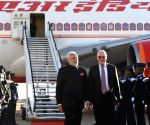 Pretoria (South Africa): Modi arrives in South Africa for BRICS Summit
