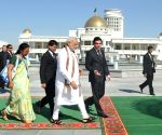 PM Modi receives ceremonial welcome in Turkmenistan