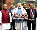Budget Session 2019-20 - PM Modi briefs media