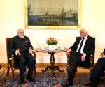 Modi with President of Germany