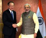 Modi meets World Bank chief