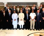 PM Modi during a meeting with the Oil and Gas CEOs and experts