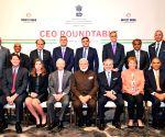 PM Modi at CEOs roundtable