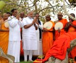 Modi visits Sri Maha Bodhi Tree