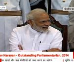 Outstanding Parliamentarian Awards - Modi