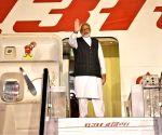 Modi leaves for Singapore