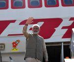 PM Modi leaves for UAE