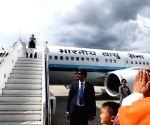 Thimpu (Bhutan): PM Modi emplanes for Delhi