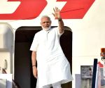 Modi leaves for three-nation tour