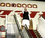 Modi leaves for India
