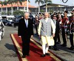 Jakarta (Indonesia): Modi emplanes for Kuala Lumpur