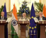 Joint press statement - Modi, Tusk, Juncker