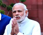Modi accuses UPA government for delaying National Police Memorial