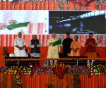 PM Modi at the foundation stone laying ceremony of various projects
