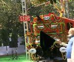 PM Modi flags off electric locomotive