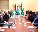 Modi meets South African President Ramaphosa
