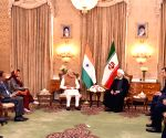 Modi holds talks with Iranian president