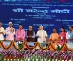 Mirzapur (UP): Modi inaugurates Bansagar canal project in Mirzapur