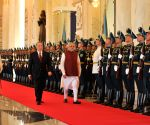 PM Modi's official welcome ceremony