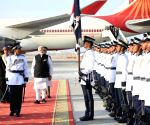 PM Modi arrives in Muscat