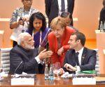 Hamburg (Germany): Narendra Modi at Plenary Session of G-20