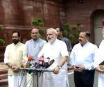 Parliament - Monsoon session