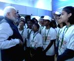 PM Modi interacts with children
