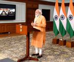 PM Modi interacts with the representatives from Varanasi based NGOs