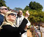 PM Modi, Benjamin Netanyahu in Ahmedabad