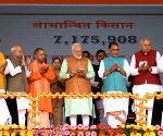 PM Modi inaugurates PM-KISAN scheme in UP